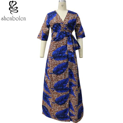 africa fashion individuality printed dress  traditional