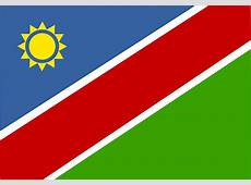 Namibia Bandera Nacional · Gráficos vectoriales gratis en