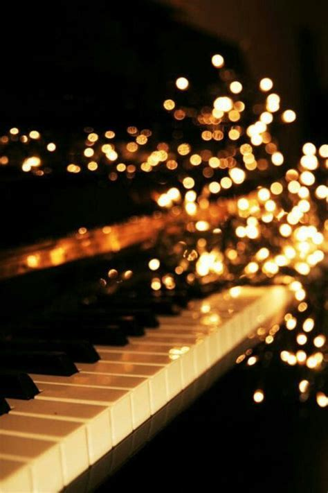 musical fairy lights the piano are black and white but they sound like a million colors in your mind