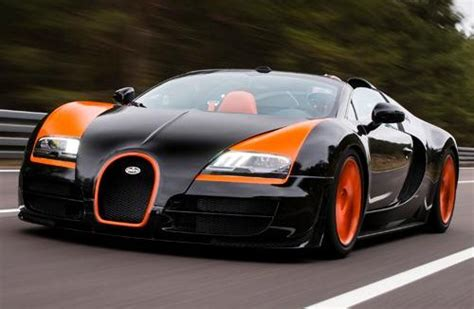 Bugatti Claims World's Fastest Roadster With Veyron Grand