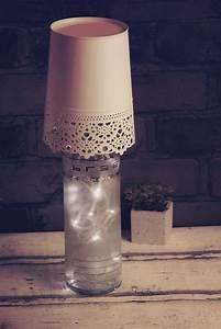 Lampe Aus Flaschen Diy Lampe 76 Super Coole Bastelideen Dazu Lampe