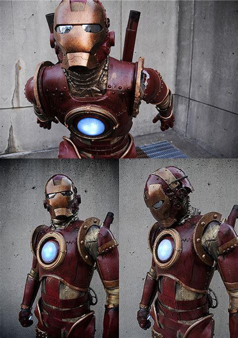 steampunk iron man cosplay dieselpunks