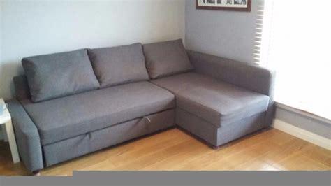 L Shape Sofa Beds by Ikea Friheten L Shape Sofabed In Stirling Gumtree
