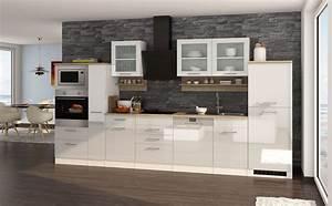 Küche Mit Geräten : k chenzeile m nchen vario 4 k che mit e ger ten breite 370 cm hochglanz wei k che ~ Yasmunasinghe.com Haus und Dekorationen