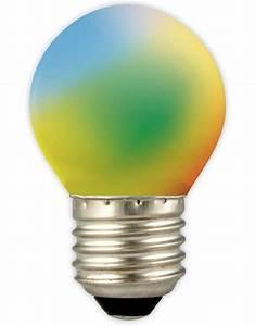 Ampoule Boule à Facette : ampoule led boule couleur e27 1w blue yellow green orange red myplanetled ~ Teatrodelosmanantiales.com Idées de Décoration