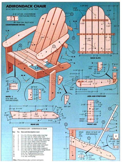 big and adirondack chair plans classic adirondack chair plans woodarchivist