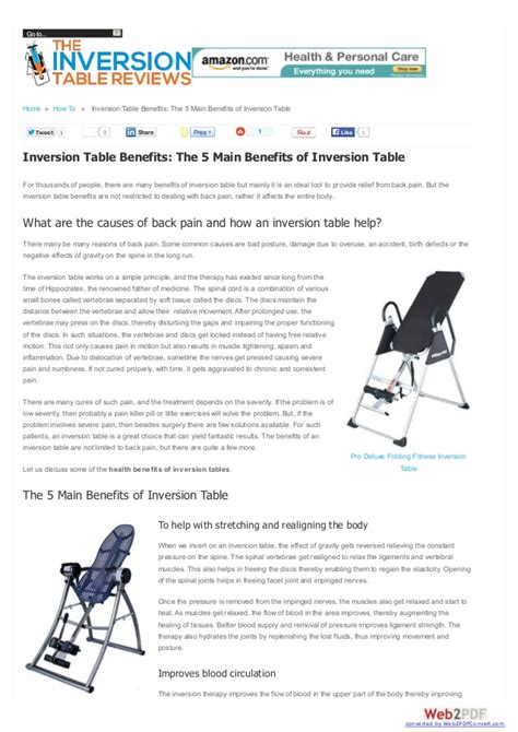 benefits of using inversion table inversion table benefits the 5 main benefits of inversion