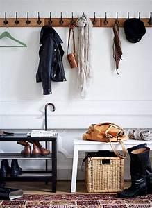 Sitzbank Flur Vintage : sitzbank im flur modern gestalten skandinavischer wohnstil ~ Watch28wear.com Haus und Dekorationen