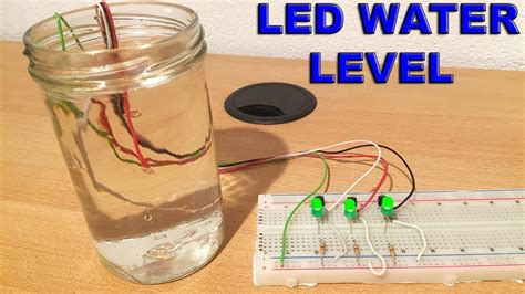 Make Water Level Indicator With Alarm System Home