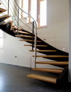 Escalier Metal Prix : prix d 39 un escalier contemporain 5 messages ~ Edinachiropracticcenter.com Idées de Décoration