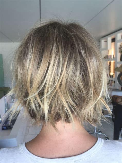 textured short bob   chelsea ferguson hair