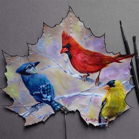 Painting Ideas by Bright Painting Ideas To Add Colorful Leaves To Fall