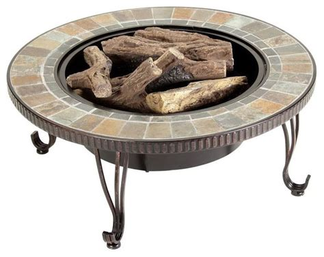 ethanol pit outdoor duraflame outdoor fire pits illuma 36 in bio ethanol fire pit with log set contemporary