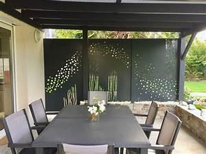 Terrasses En Vue : brise vue et vent sur terrasse en aluminium d cor sur ~ Melissatoandfro.com Idées de Décoration