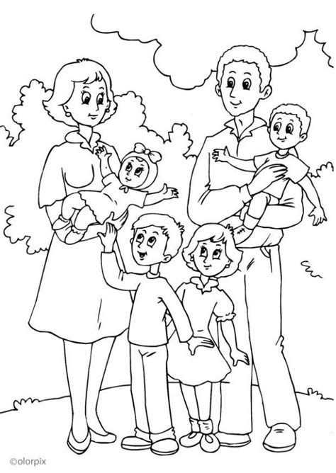 theme family coloring pages juf milou