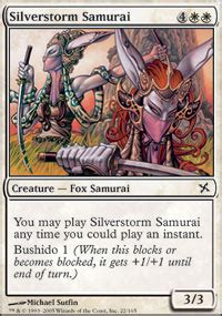 silverstorm samurai betrayers of kamigawa magic the