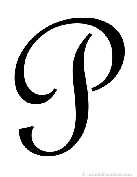 printable letter p  cursive writing ideas cursive letters fancy calligraphy letters