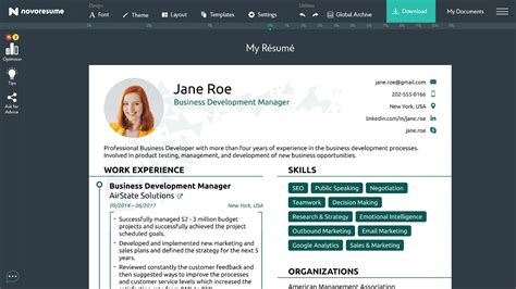 Resume Creator Professional by Resume Builder India Professional Template Indian