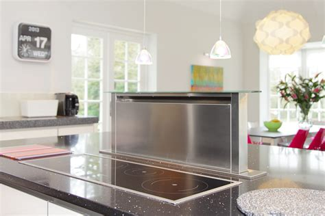 kitchen island extractor fans family kitchen in farnham surrey
