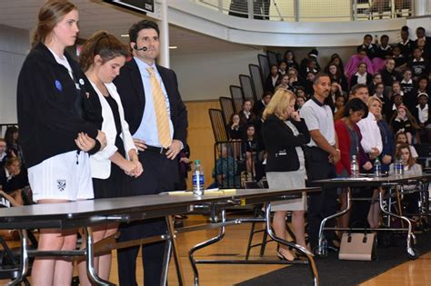 mock trial impact consequences st marys dominican high school