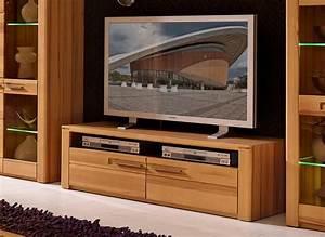 Tv Möbel Lowboard : woodtree tv m bel lowboard sideboard anrichte kernbuche sch ner wohnen tv m bel ~ Markanthonyermac.com Haus und Dekorationen