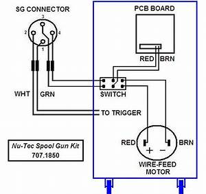 707 1850 Spool Gun Switch Kit