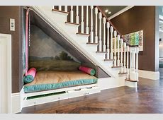 Under The Stairs Dog Bed Contemporary Entrancefoyer