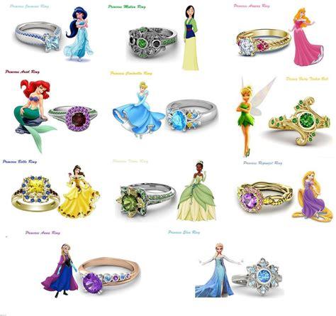 14k gold over round cut diamond disney princess engagement