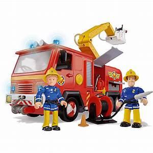 Feuerwehrmann Sam Geburtstagsdeko : feuerwehrmann sam feuerwehrwagen deluxe jupiter mit 2 figuren feuerwehrmann sam mytoys ~ Whattoseeinmadrid.com Haus und Dekorationen