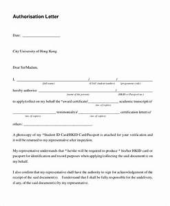 Free 11  Sample Letter Of Authorization Forms In Pdf