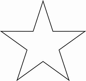 small star clipart clipart best With small star template printable free