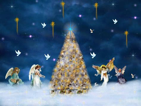christmas angel christmas wallpapers backgrounds