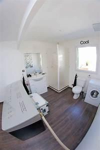 comment installer un miroir de salle de bain lumineux With comment coller un miroir de salle de bain