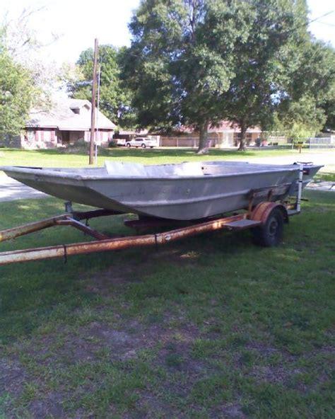 Homemade Jon Boat Trailer by 1982 Homemade Flat Jon Boat For Sale In Lake Charles