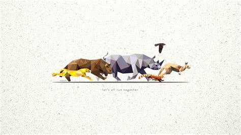 Low Poly Animal Wallpaper - low poly animal wallpaper 1080p 1920x1080 px 321 99 kb