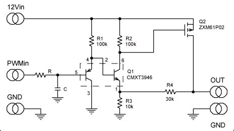 Circuit Converts Pwm Amplified Buffered Linear