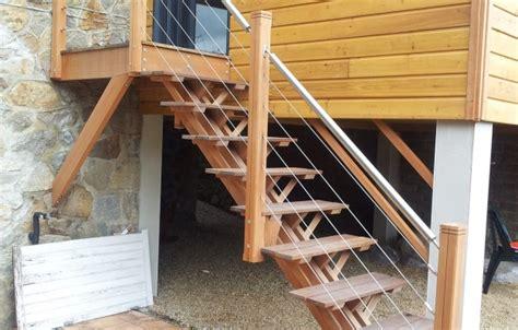 escalier ext 233 rieur am 233 nagement jardin