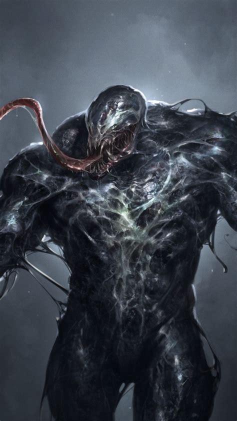 dark villain creepy venom art wallpaper venom art