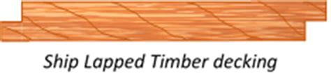 Ship Lapped Timber by Trailer Sauce Trailer Decking