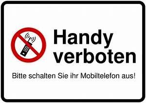 Warnschilder Selbst Gestalten : schild selbst drucken handyverbot ~ Orissabook.com Haus und Dekorationen