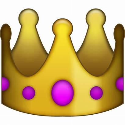 Emoji Crown Queen Transparent Clipart Emojis Corona