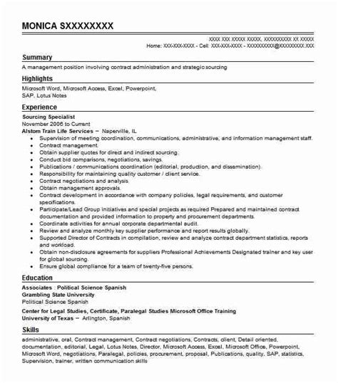 Create My Resume For Me by Sourcing Specialist Objectives Resume Objective Livecareer