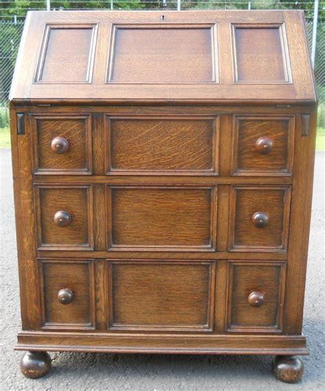oak jacobean style writing bureau sold