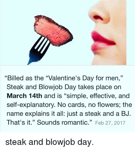 Steak And Bj Meme - is there a day called world bl wj b day blackhatworld