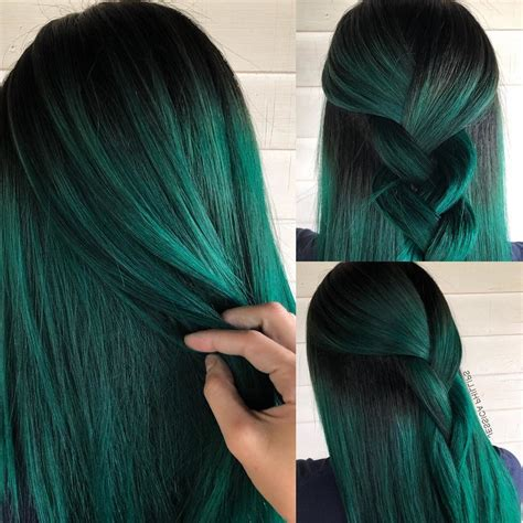 20 Vibrant Dark Hair Color Ideas To Try 2019 Hair Colour
