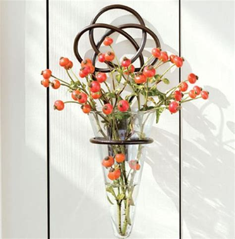 Vase Stand Decor Vase Flower Vase by This Graceful Wrought Iron Knot Vase Is Simplistic Yet