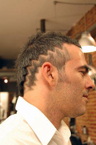 haircut zigzag  hair tattoo hair cuts hair styles competition hair
