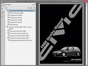 Honda Civic And Crx  1988