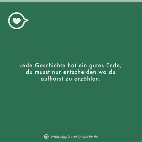 whatsapp status sprueche neu