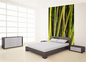 papier peint bambou pas cher With déco chambre bébé pas cher avec livraison fleurs au travail